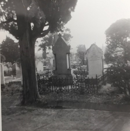 Grieve grave taken in 1967